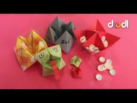Origami Paper Game (Paku Paku)