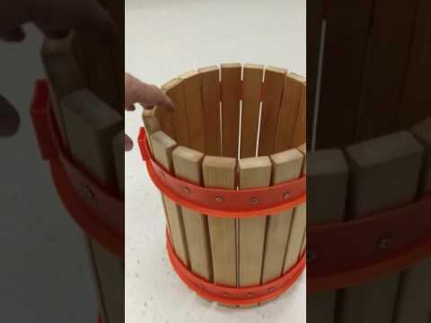 DIY budget cider press all completed