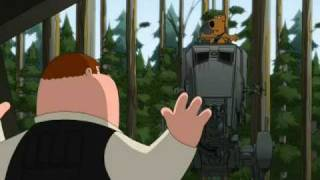 Family Guy - Chewbacca Have Fun With AT-ST