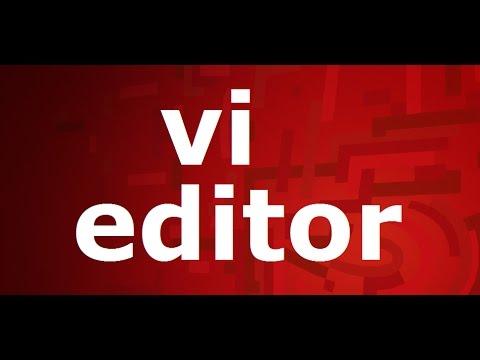 vi editor in Linux tutorial