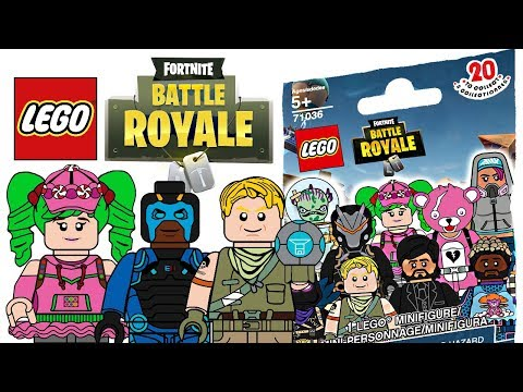 LEGO Fortnite Battle Royale Minifigures - CMF Draft!