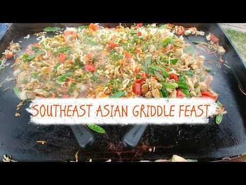 Southeast Asian Satisfaction On The Blackstone Griddle