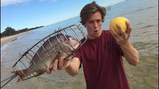 DEEP SEA FISHING - Catch n Cook! Cooked on the beach | TDB