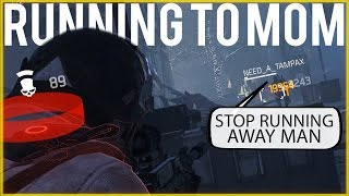 Trash Talker Runs To Mommy!  DZ PVP (The Division 1.8.3)