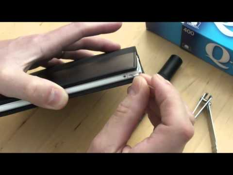 How to fix a broken stylus on a Sony PRS-350 e-reader.