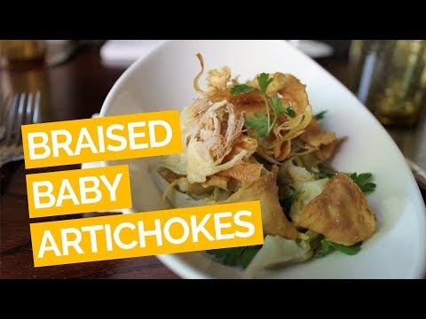 Braised Baby Artichoke Recipe