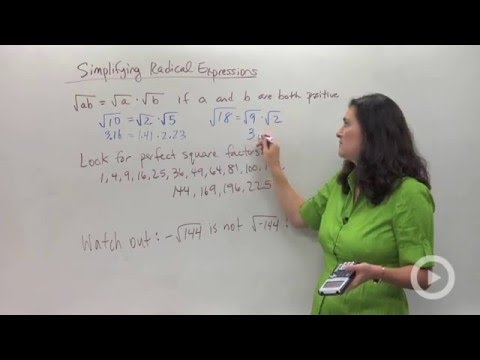 Simplifying Radical Expressions(HD)