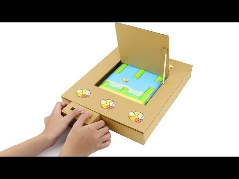 How to Make Amazing Flappy Bird GamePlay from Cardboard