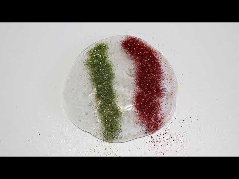 ASMR Glitter Slime! DIY POP