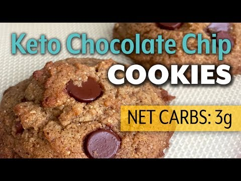 The BEST Keto Chocolate Chip Cookies Recipe