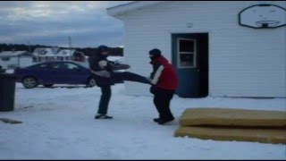 Nbw - Newport Backyard Wrestling : Snowstorm