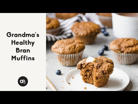 Grandma's Healthy Bran Muffins