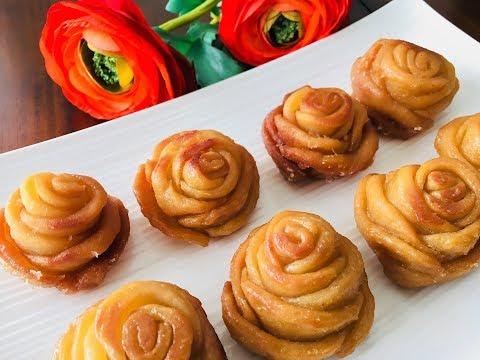 होली के अवसर पर बनायें ख़ास मिठाई, गुलाब मीठा/Golap pitha/Poonam's Kitchen