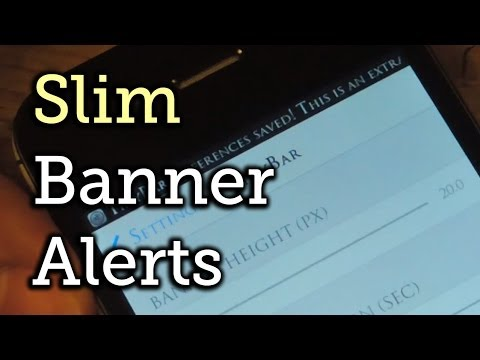 Get Smaller Banner Alerts in iOS 7 That Scroll Through Messages on Your iPhone [How-To]