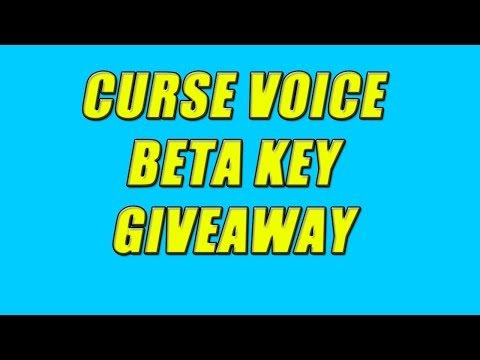 Curse voice is now Open Beta - No keys required. Read description for more info