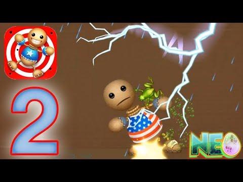 Kick The Buddy: Gameplay Walkthrough Part 2 - Frog Rain (iOS, Android)