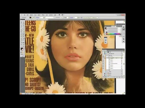 Adobe Illustrator - Magazine Cover [Let It Be]