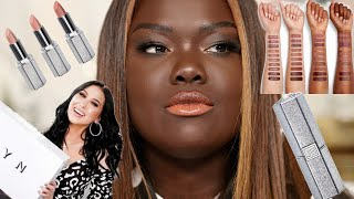 I Tried the JACLYN COSMETICS LIPSTICKS || Nyma Tang