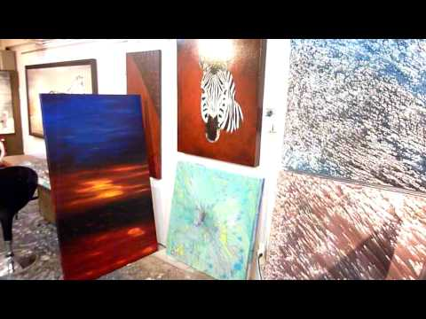 LEARN TO PAINT ABSTRACT ART- Painting lessons modern abstract art
