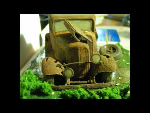 Junkyard Rusty 32 Coupe Revell Model