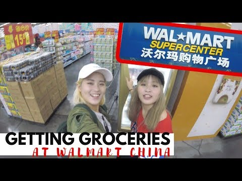Life in China: Getting Groceries from Walmart