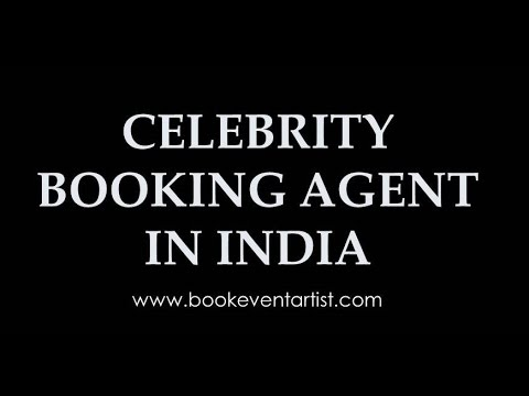 Celebrity booking agency in India- bookeventartist.com