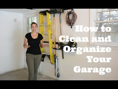 How to Get Your Garage Clean and Organized - Thrift Diving