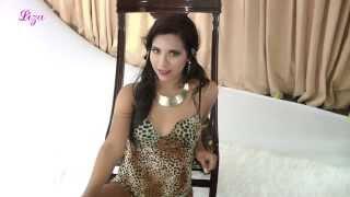 Lencería Liza modelo Atigrado
