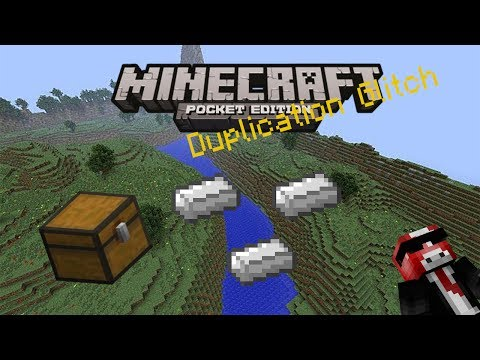How-To Duplicate Items in Minecraft Pocket Edition (0.8.1)