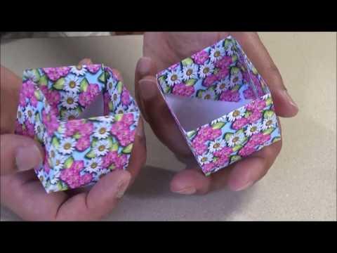 Origami Box from Rectangular Sheet