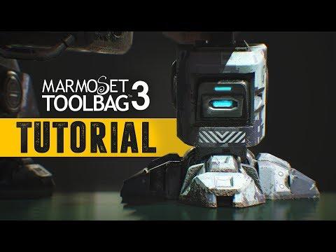 Marmoset Toolbag 3 - Portfolio ready renders