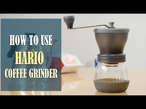 Hario Ceramic Coffee Grinder Instructions - How to Use, Adjust the Grind Setting and Clean