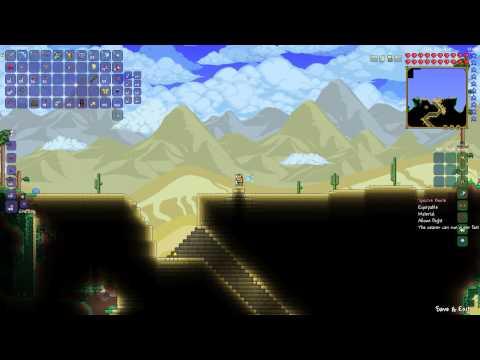 Terraria 1.2- Flying Carpet