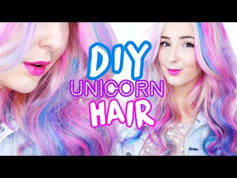 How To: Unicorn Hair! (Temporary Dye) | by tashaleelyn