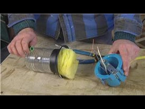 Home Maintenance Tips : How to Connect Ground Wires in Light Fixtures