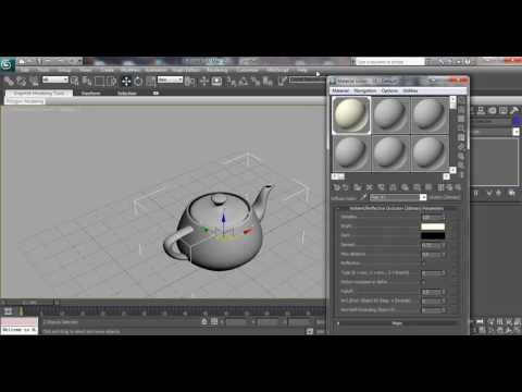 3ds max Mental ray Clay Rendering Tutorial.