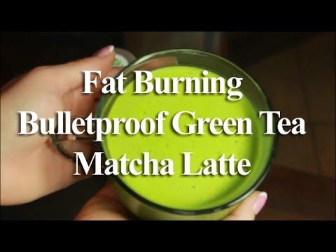 Fat Burning Bulletproof Green Tea Matcha Latte