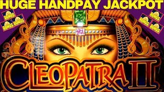 Cleopatra 2 Slot ★MASSIVE JACKPOT HANDPAY!★ 👉RARE RETRIGGERS   Cleopatra Slot JACKPOT WON   NG Slot