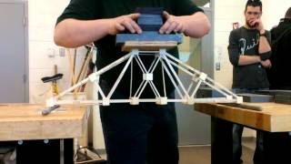 NSCC Civil Engineering Tech. 2014 Year 1 Bridge Building Project