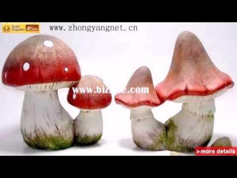 Diy Garden Mushroom Decor