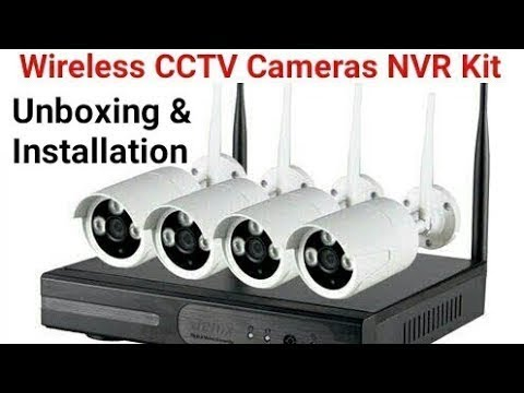 Secureye Wireless CCTV Cameras  NVR Kit