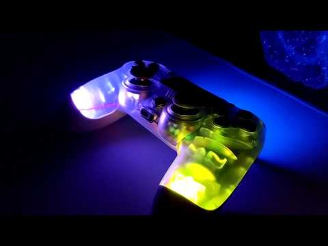 Rainbow Color Changing PS4 Controller