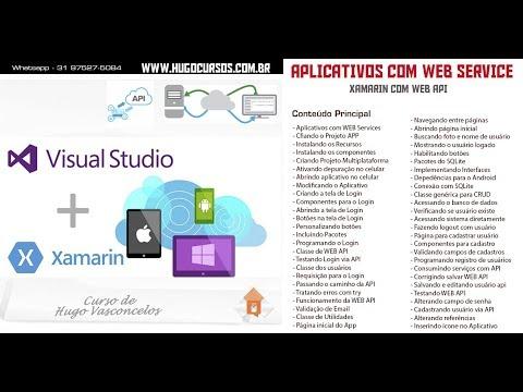 Xamarin C# com WEB Services - Aula 16 - Classes de WEB API