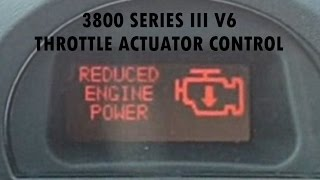 Throttle Actuator Control - 3800 Series III V6