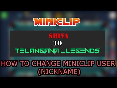 how to change 8 ball pool user name/miniclip nickname changeing trick