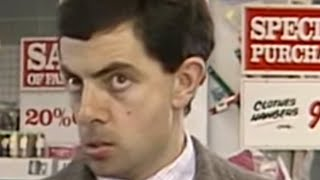 Credit Card Mistake | Funny Clip | Classic Mr. Bean