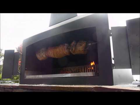 Engel Fires Outdoor Fireplace