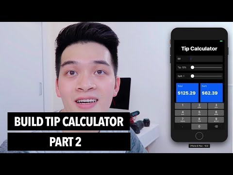 Build Tip Calculator Part 2 | 30 Days of Swift Challenge