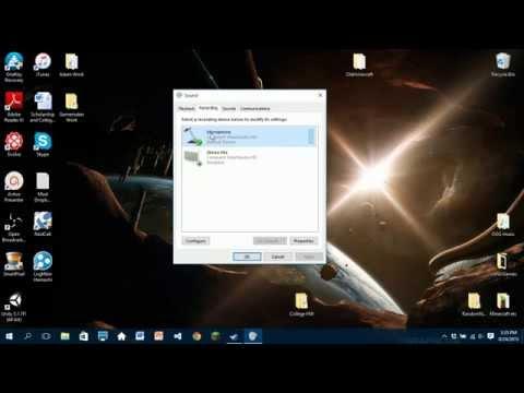 Windows 10 Mic Fix