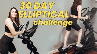I Only Did Elliptical Workouts for 30 days | BEFORE & AFTER